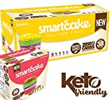 SMARTCAKE BUNDLE: 1x LEMON SHIPPER and 1x CINNAMON GOURMET BOX: GLUTEN FREE, SUGAR FREE, LOW CARB SNACK CAKES: 10x twin packs (20 individual cakes)