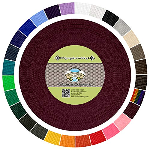 Country Brook Design - Polypropylene Webbing (1 Inch)