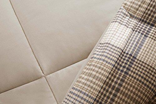 90e6e8a12e Woolrich Lumberjack Full/Queen Size Bed Comforter Set - Brown, Khaki,  Farmouse,