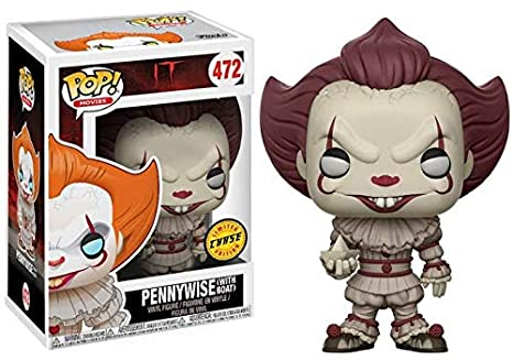 efc5ff40c07 Amazon.com  Funko It Pennywise Pop Vinyl Figure (Chase)  Toys   Games