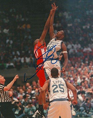 Walter McCarty Autographed Photo - KENTUCKY WILDCATS 8X10 COA A - Autographed NBA Photos -