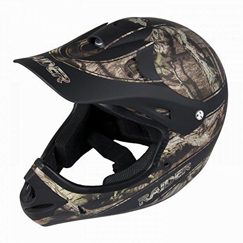 Raider Youth Ambush MX Helmet (Realtree Xtra, (Raider Atv Helmets)