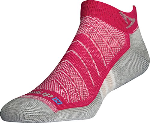 Drymax Unisex Max Cushion Run Mini Crew Socks