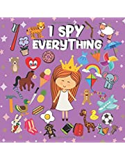 I Spy Everything: Guessing Game Book for Kids 2-5 year old | Alphabet Picture Puzzle Book for Preschoolers | Seek and Find Alphabet Things | Children's Learning toys | Cute Colorful 40 pg, 8,5x8,5