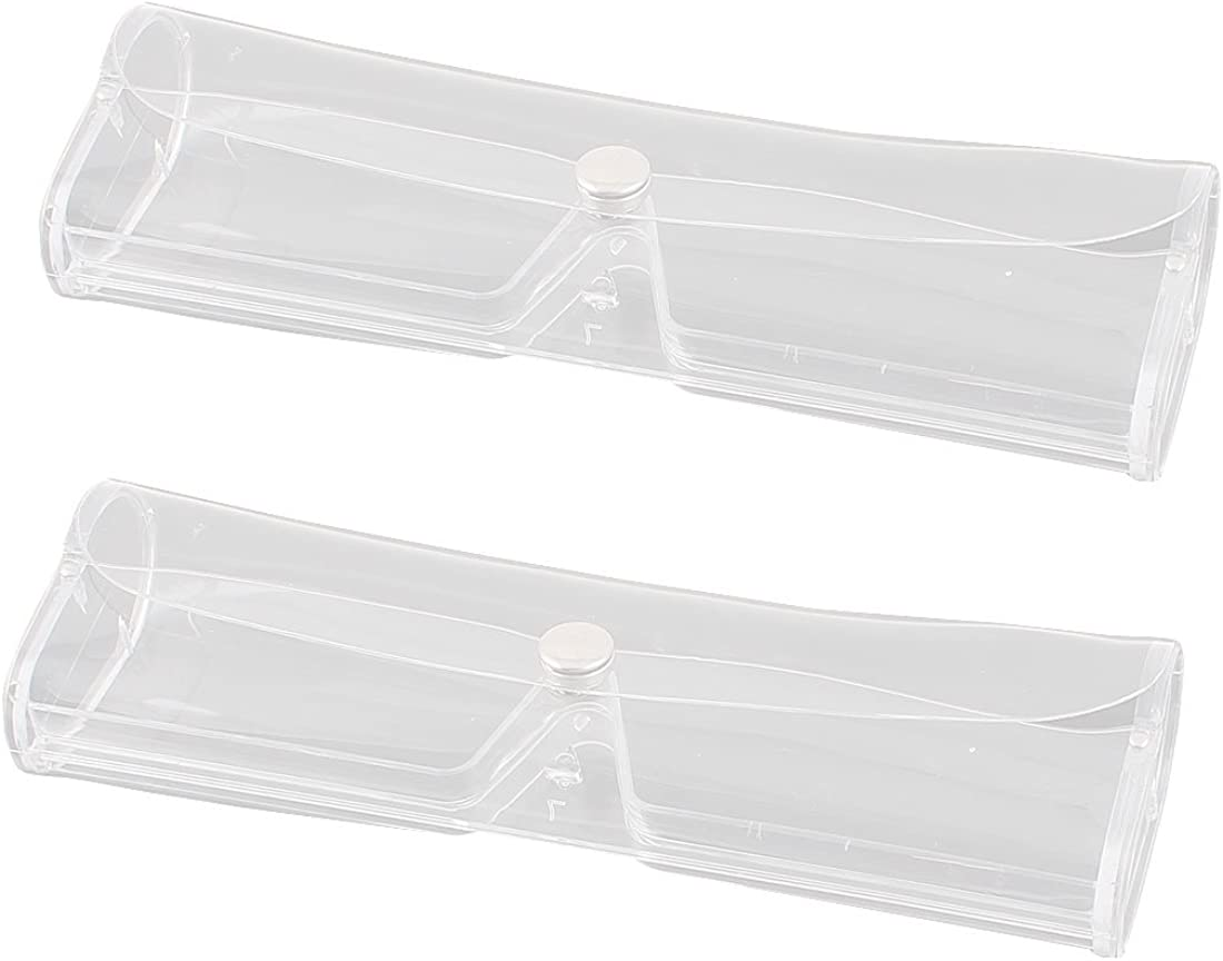 Uxcell 2 Pcs Clear Plastic...