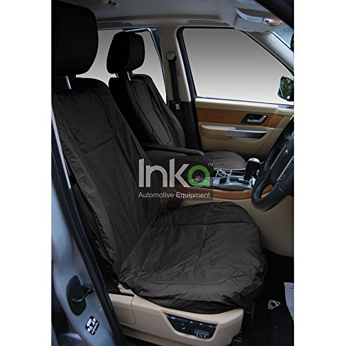Inka INK-WSC-3544 Fully Tailored Waterproof Front Seat Covers Black