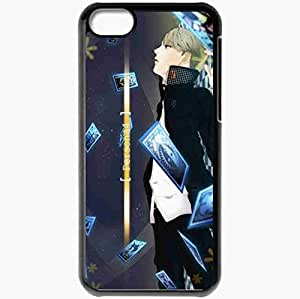 Personalized iPhone 5C Cell phone Case/Cover Skin Persona 4 Black