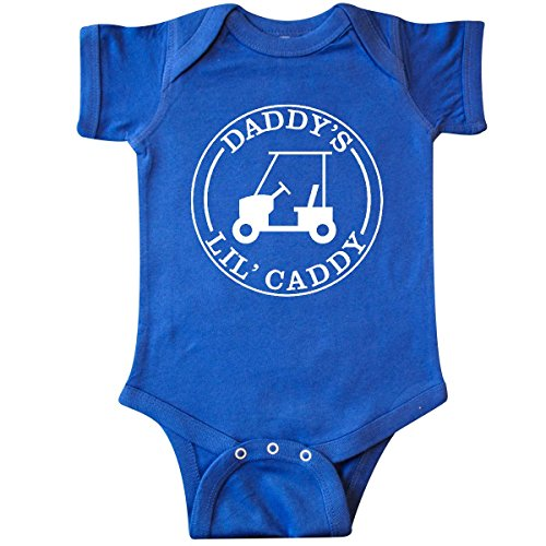 inktastic-unisex-baby-daddys-lil-caddy-infant-creeper-6-months-royal-blue