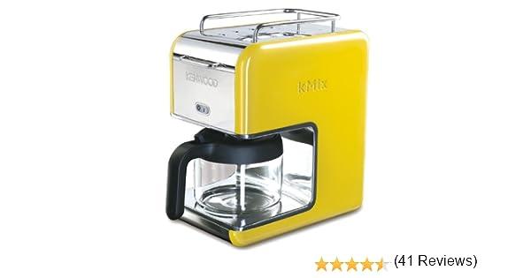 Kenwood CM 028 kMix Boutique - Cafetera de goteo (6 tazas), color amarillo: Amazon.es: Hogar