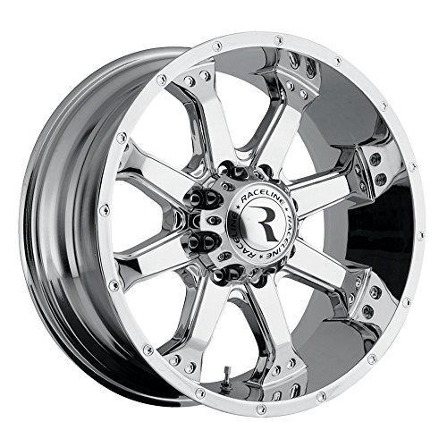 Used, Raceline Rims Assault Chrome 17X9 8X170mm -12mm (4.5In for sale  Delivered anywhere in USA