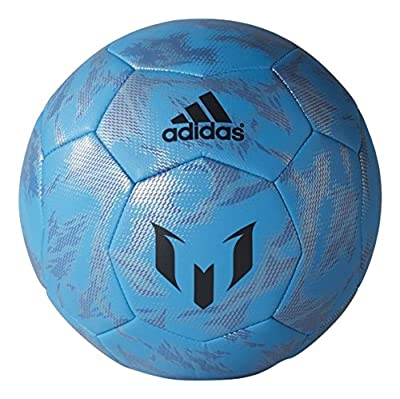 Adidas Performance Messi Soccer Ball Size 5 (Blue)