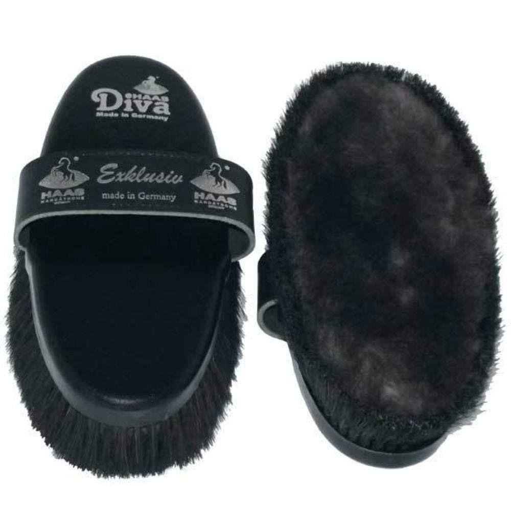 Haas Diva Exklusiv Brush - Black