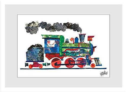 Eric Carle Steam Framed Painting