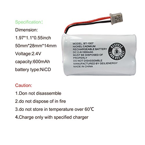 Buy uniden phone batteries bt1007