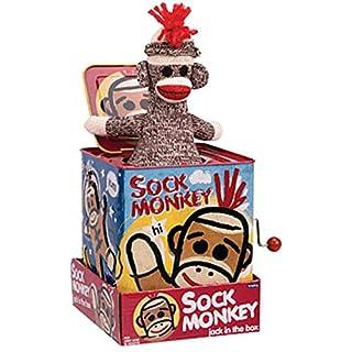 Lonestar Wholesalers Monkey Jack in The Box TIN Toy - Kids Boys Girls Toys