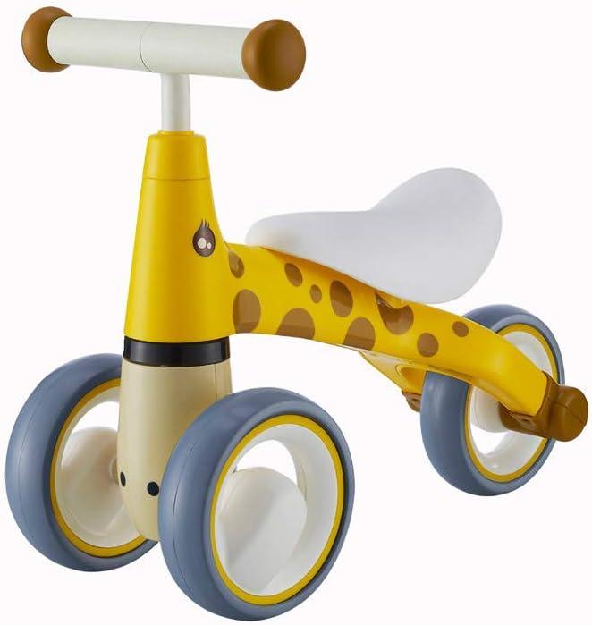 Bicicleta para Equilibrio para BebéS - 6-24 Meses Sin Pedales Bicicleta para Equilibrio Robusto para,Amarillo