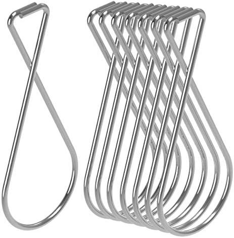 Hraindop 100 Pack Ceiling Hook Clips Ceiling Hanger Hooks for Office Classroo...