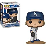 Funko Clayton Kershaw [Los Angeles Dodgers]: x POP! MLB Vinyl Figure + 1 Official MLB Trading Card Bundle [#007 / 30238]