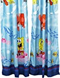 2pc Catch Me Spongebob Squarepants Long Curtain Set Review