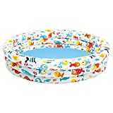 Best Intex 1 Year Old Outside Toys - Intex 54in x 12in 3-Ring Inflatable Pool 57422EP Review
