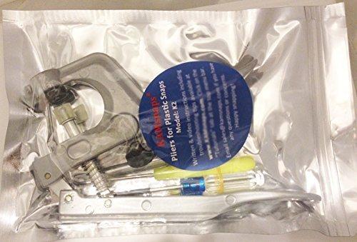 KAMsnaps® Starter Kit: 100 Size 20 (1/2