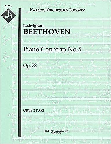 Téléchargez les manuels au format pdfPiano Concerto No.5, Op.73: Oboe 2 part (Qty 2) [A1283] (Littérature Française) PDF DJVU