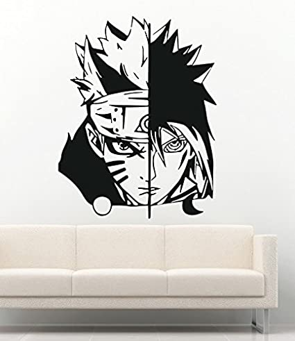Amazon.com: Anime Wall Decal For Boys Girls Naruto Cartoon ...