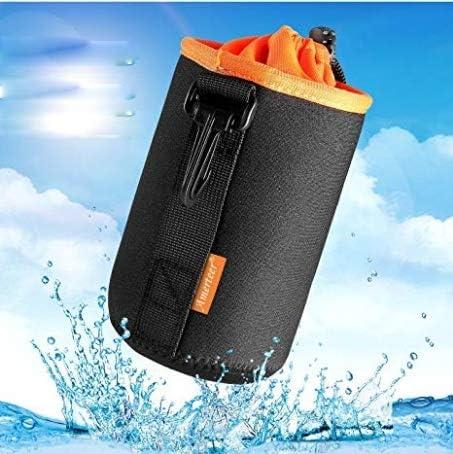 Single Lens Reflex Camera Lens case Thick Super Soft Waterproof Shockproof Protection Cover Lens Storage Bag 4 Size Set