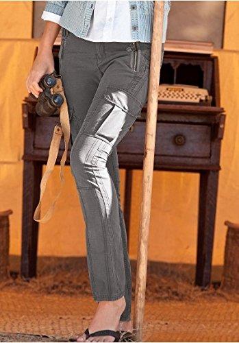 Pantalón Riptophose Mujer de Eddie Bauer gris