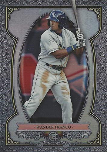 2019 Bowman CHROME Sterling REFRACTOR - Wander Franco - Tampa Bay Rays Baseball Rookie Card RC #BS10