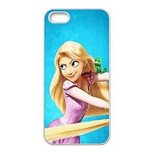 iPhone 5 5s Cell Phone Case White Tangled Disney Art Illust Ltzqg
