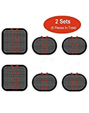 Gel Pads Replacement Unit Set Pack for Slendertone All Abdominal Belts 2 Set (6 Gel Pads)