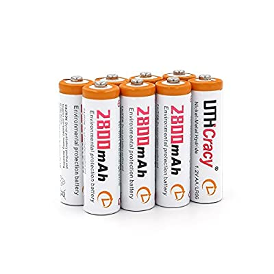AA 2800mAh Rechargeable Batteries Set