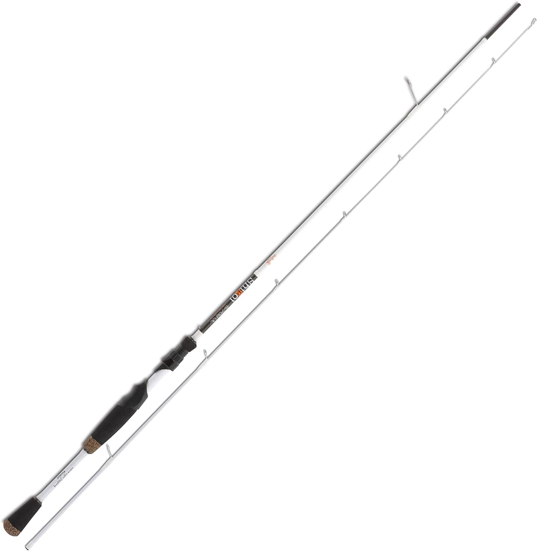 Doiyo Angelrute Gummifischrute Jigging Rute Shiroi S702 UL 2,13m 1-8g 2 Teile