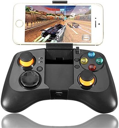 TURNMEON Bluetooth Wireless Gamepad Joystick 360 ° Game Controller Game pads Handle Gamer Works for Samsung Gear VR Virtual Reality Headset iPhone Android Smartphone Tablet TV BOX by TURNMEON: Amazon.es: Videojuegos
