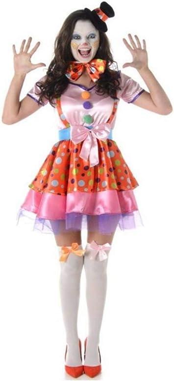 Generique Disfraz de Payaso Mujer L: Amazon.es: Juguetes y juegos