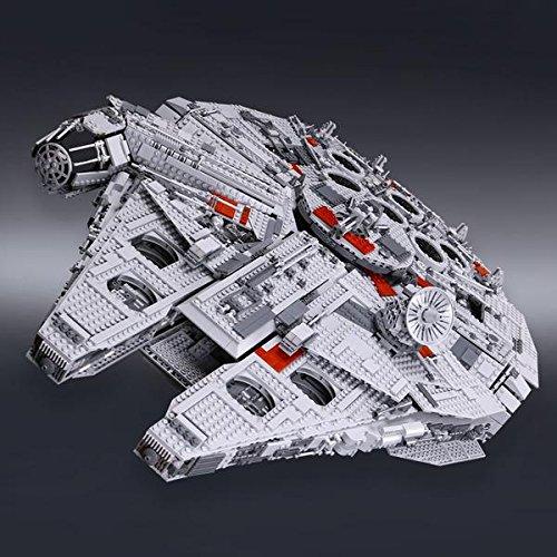 Star Wars Millennium Falcon Collectors Edition, 5265pc Lego Star Wars compatible
