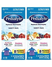 Pedialyte Variety Powder Pack, 0.3-Ounce, 16 Count
