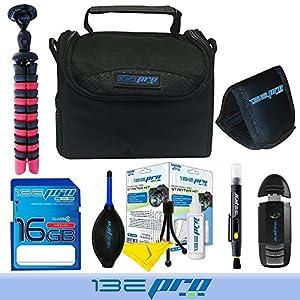 "I3ePro 16GB Accessories Kit with I3ePro 16GB SD Card + I3ePro BC1 Carry Case + I3ePro OKTO12 12"" Tripod and more for PowerLead Gapo G051"