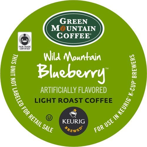 Green Mountain Coffee, Wild Mountain Blueberry, K-Cup Single Serve Portion Pack for Keurig K-Cup Brewers, 24 Count (Pack of 2) Size: 48 Count FlavorName: Model: