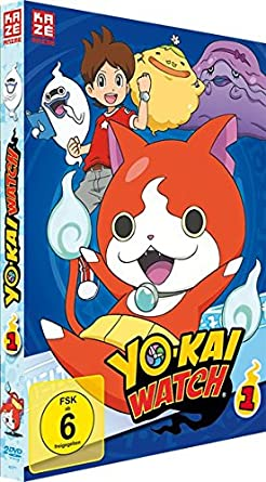 amazon com yo kai watch dvd box 1 episoden 1 13 2 dvd s movies