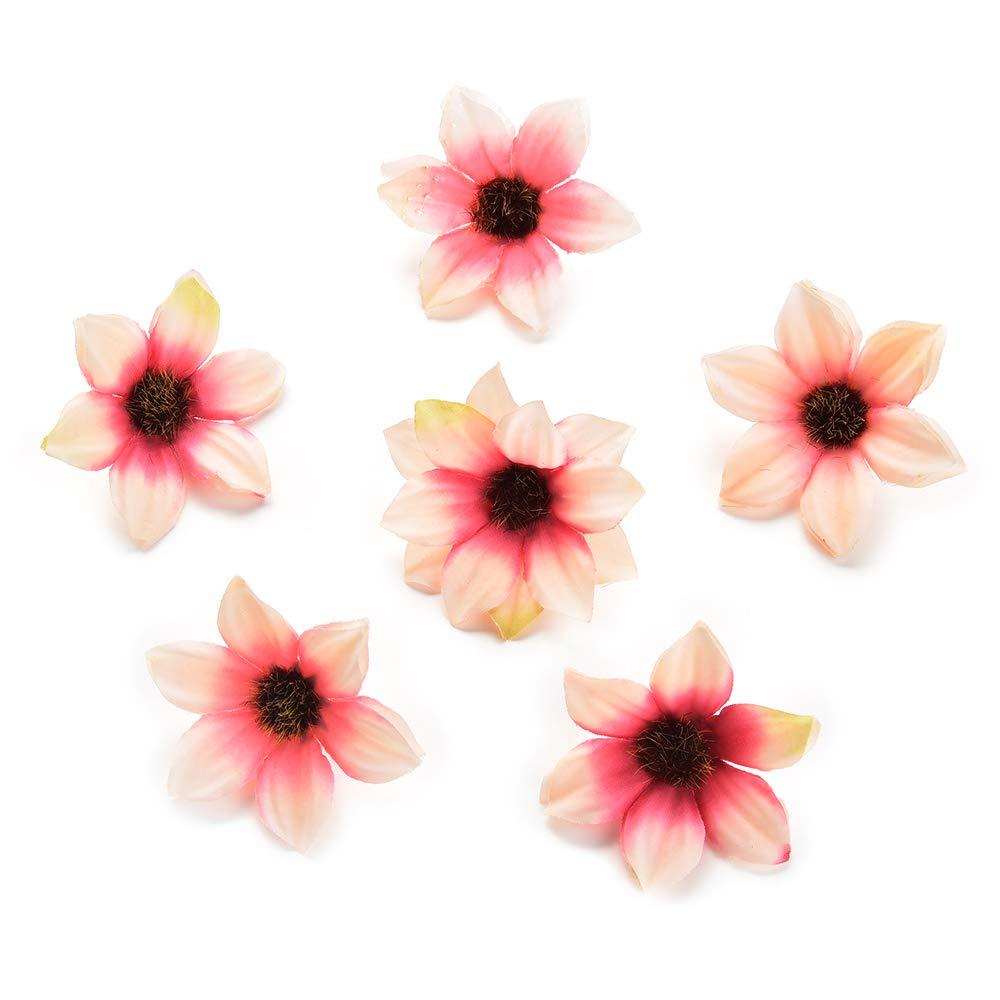 80 Unidades de 5 cm Flores de Seda para decoraci/ón del hogar o Boda NWSX