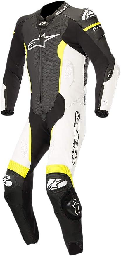 Alpinestars 3150118-125-54 - Traje para hombre, color negro/blanco ...