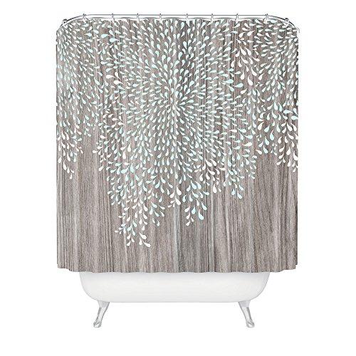 Deny Designs Iveta Abolina Coastal Raindrops Shower Curtain , 69