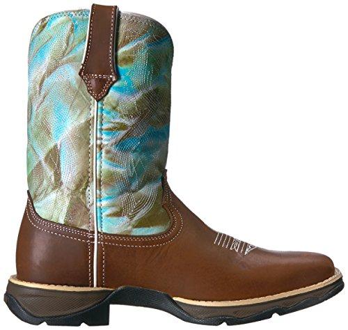 Durango Womens Drd0198 Western Boot Tan / Turquoise Swirl