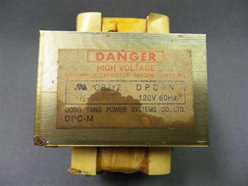 recertificación Samsung yn-3550t microondas transformador ...