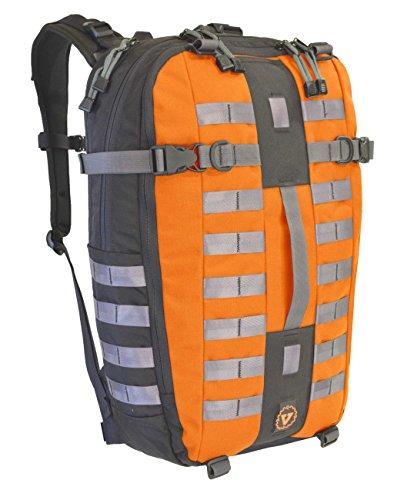 Venture Luggage Digitech 20 Modular Laptop Backpack, Men's, Orange, Large