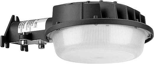 Hyperlumen - Foco LED para exteriores (equivalente a 50W 250-400W, 5500K, luz de día, luz de seguridad, 6000 lm, luz de patio): Amazon.es: Iluminación