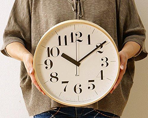 Lemnos(レムノス) 掛け時計 Riki Clock(リキクロック)Lサイズ B01B13LGES