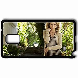 Personalized Samsung Note 4 Cell phone Case/Cover Skin Annalynne Mccord Black